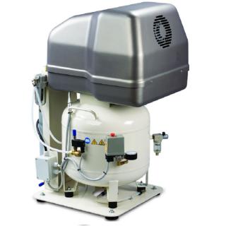 MedAS 320-08-50M Pístový odhlučněný bezolejový kompresor Inaircom 2,2 kW