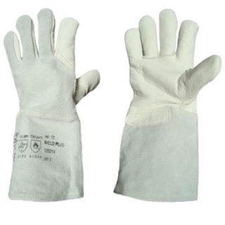 svářečské rukavice velikost 11 WELD PLUS 125214 - foto 1