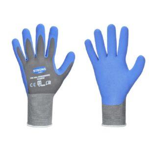 BLUE MOUNTAIN bezešvé pracovní rukavice, jemně pletené - foto 1