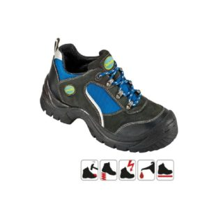 GÖHREN S1 pracovní bezpečnostní obuv ze semišové kůže - foto 1