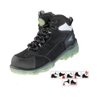 LICATA S3 pracovní bezpečnostní kotníková obuv z nubukové kůže - foto 1