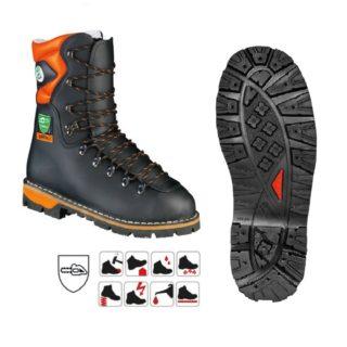 EIBE S3 poloholeňová protiřezná pracovní obuv - foto 1