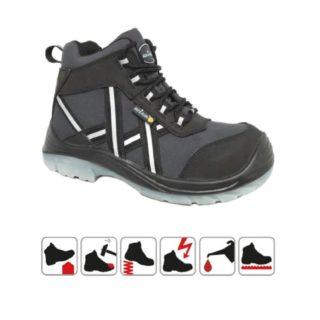ALENTO S3 pracovní bezpečnostní obuv z nubukové kůže - foto 1