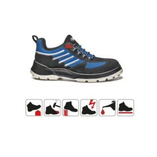 NAOMI S1P pracovní bezpečnostní obuv ze semišové kůže - foto 1