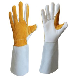 DUOWELD svářečské rukavice velikost 11 z hovězinové štípené usně - foto 1