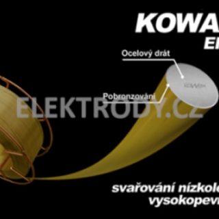 KOWAX 69 1.0mm 250kg Pobronzovaný