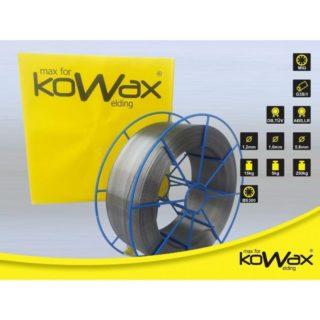 Kowax G3Si1 1.0mm 15kg Speed Road svařovací drát - nepoměděný