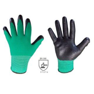FROG povrstvené ochranné pracovní pracovní rukavice z nitrilu - foto 1