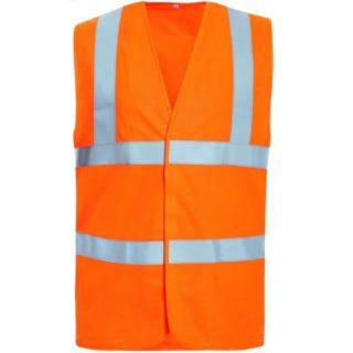 TAMMO oranžová reflexní pracovní vesta ze 100% polyesteru - foto 1